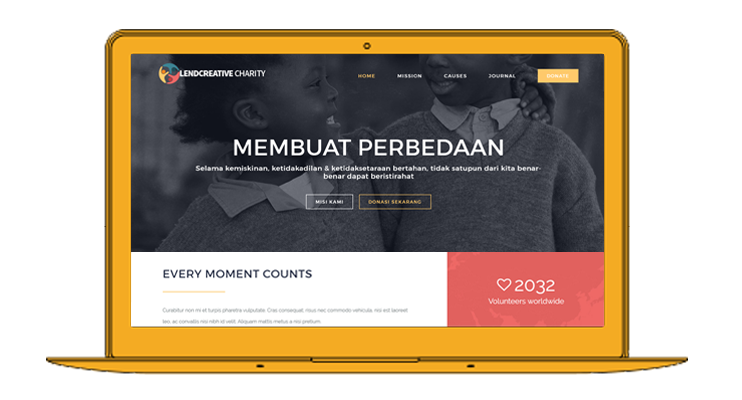 theme sosial wordpress