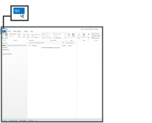 Setting Email di Ms Outlook 2013